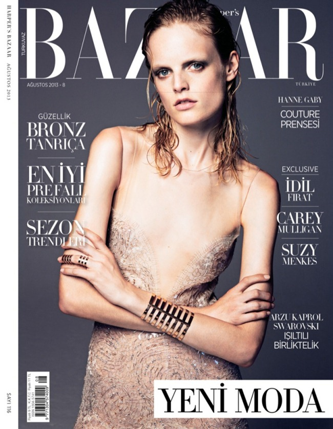 HARPER'S BAZAAR TURKEY- Hanne Gaby Odiele in Couture by Gianluca Fontana. Sara Francia, August 2013, www.imageamplified.com, Image Amplified