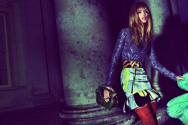 CAMPAIGN- Doutzen Kroes for Emilio Pucci Fall 2013 by Mert & Marcus. www.imageamplified.com, Image Amplified