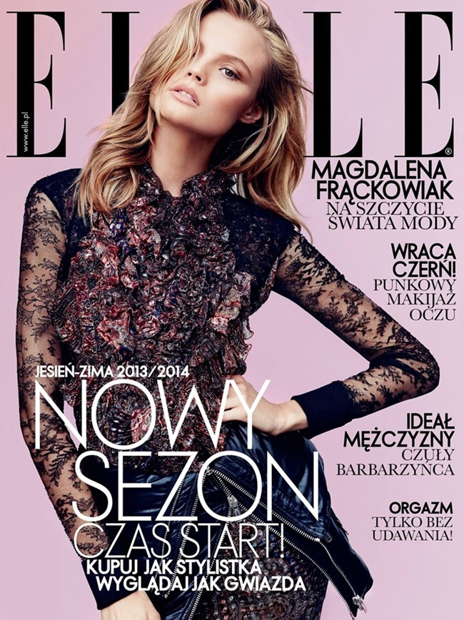 ELLE POLAND- Magdalena Frackowiak by Magdalena Luniewska. September 2013, www.imageamplified.com, Image Amplified