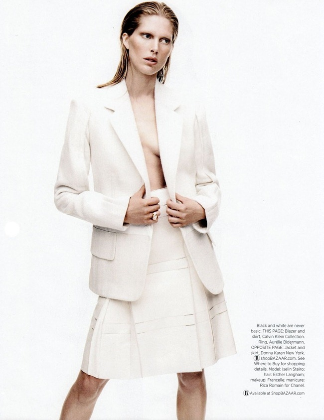 HARPER'S BAZAAR MAGAZINE- Iselin Steiro in What's Chic Now by Daniel Jackson. Alastair McKimm, September 2013, www.imageamplified.com, Image Amplified (6)