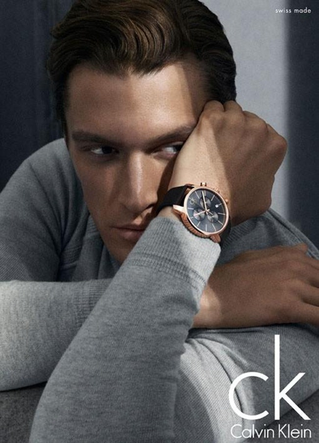 CAMPAIGN- Shaun DeWet for Calvin Klein Watches 2013 by Mikael Jansson. www.imageamplified.com, Image Amplified (1)