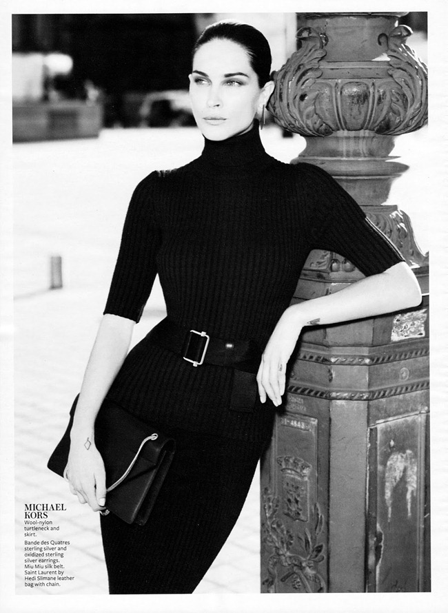 INSTYLE MAGAZINE- Erin Wasson in French Twist by Phil Poynter. Melissa Rubini, September 2013, www.imageamplified.com, Image Amplified (2)