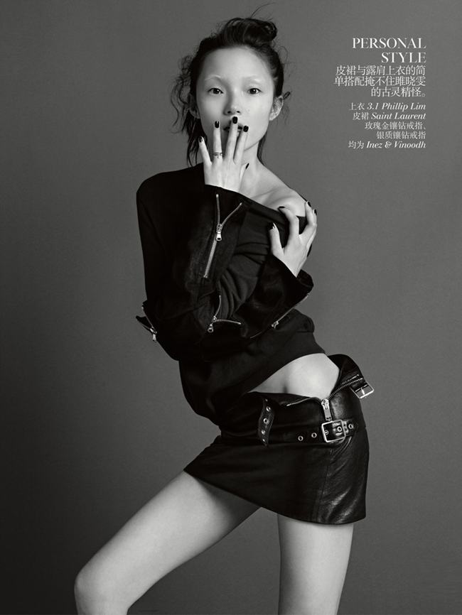 VOGUE CHINA- Duality by Inez & Vinoodh. Nicoletta Santoro, September 2013, www.imageamplified.com, Image Amplified