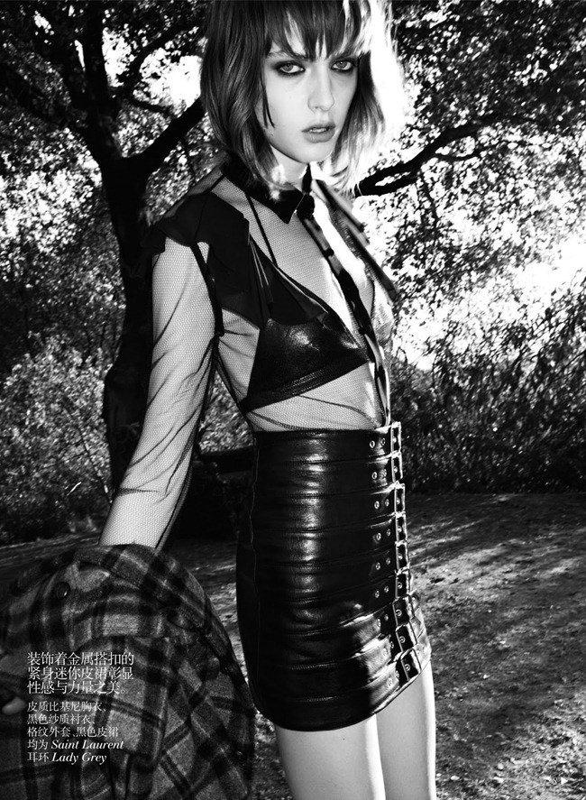 VOGUE CHINA- Gracie Van Gastel in Shining Punk by Hedi Slimane. Melanie Ward, September 2013, www.imageamplified.com, Image Amplified (5)