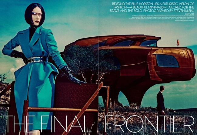 VOGUE MAGAZINE- Raquel Zimmermann & Toni Garrn in The Final Frontier by Steven Klein. Tonne Goodman, September 2013, www.imageamplified.com, Image Amplified (5)