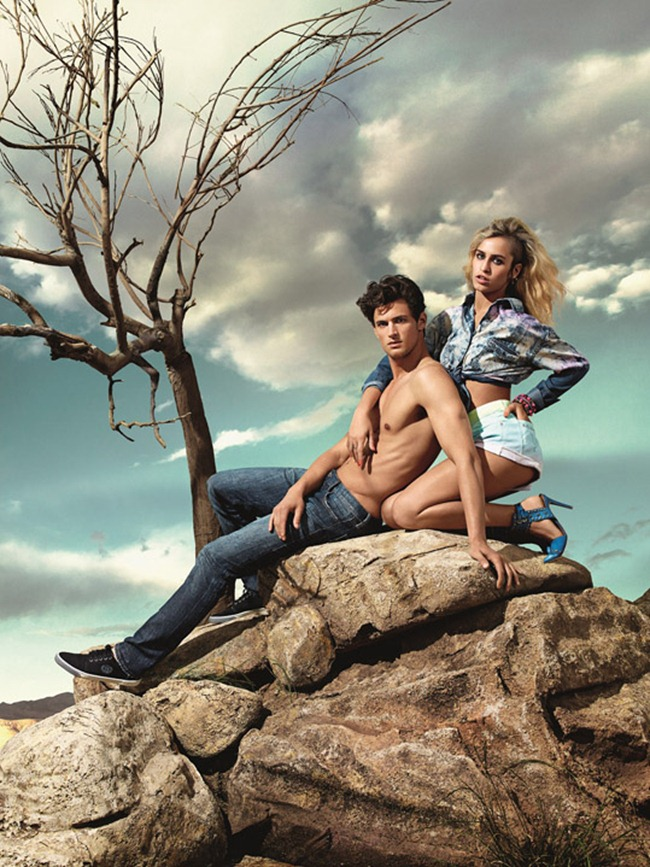 CAMPAIGN- Alice Dellal & Garrett Neff for Triton Summer 2014 by Zee Nunes. Daniel Ueda, www.imageamplified.com, Image Amplified (8)