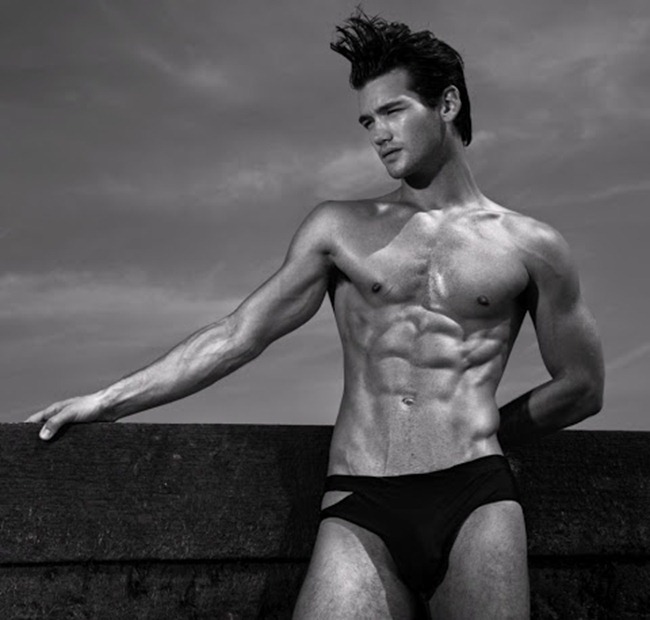 CAMPAIGN- Chris Fawcett & Chuck Achike for Troy Swimwear 2013 by Joseph Sinclair. www.imageamplified.com, Image Amplified