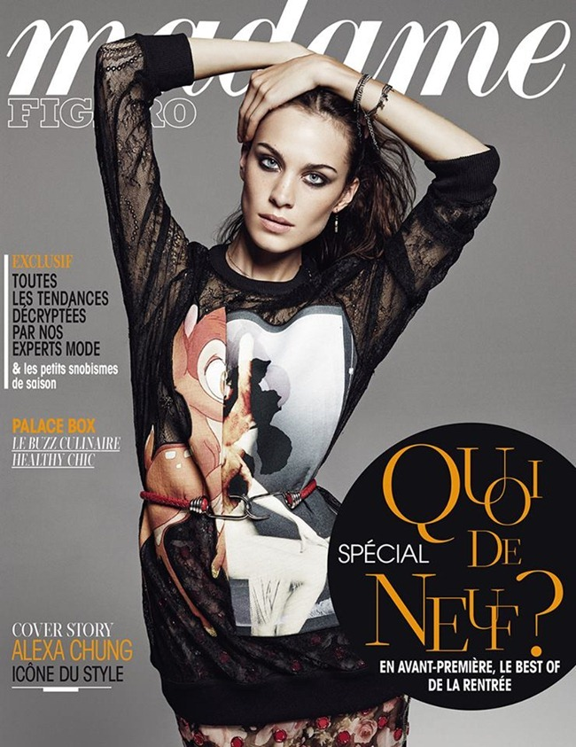 MADAME FIGARO FRANCE- Alexa Chung by Driu & Tiago. August 2013, www.imageamplified.com, Image Amplified (8)
