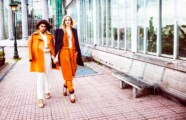 ELLE BELGIUM- Yana Bovenistier & Chavelli Inghels by Hicham Riad. Caroline Swinnen, September 2013, www.imageamplified.com, Image Amplified (1)