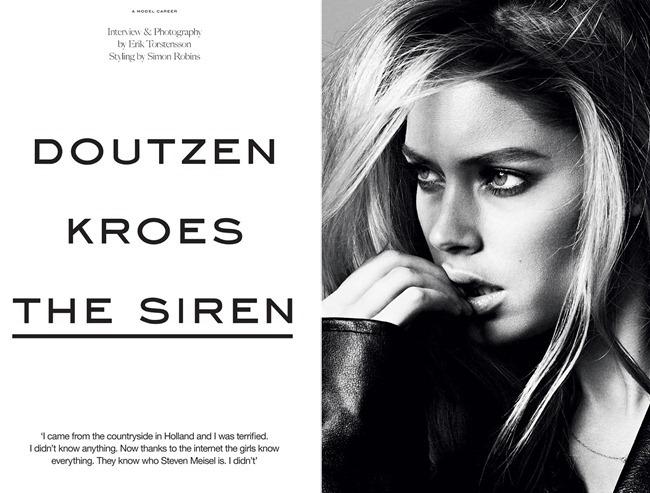 INDUSTRIE MAGAZINE- Doutzen Kroes in The Siren by Erik Torstensson. Simon Robins, www.imageamplified.com, Image Amplified