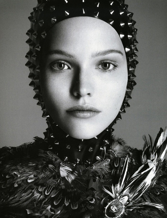 VOGUE JAPAN- Sasha Luss in The Way of the Warrior by Luigi & Danielle   Iango. George Cortina, October 2013, www.imageamplified.com, Image Amplified (1)