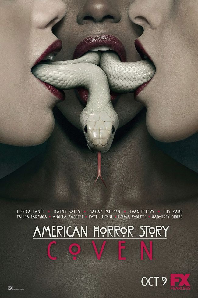 TV PREVIEW: American Horror Story: Coven, New Poster and Trailer Revealed. Image Amplified www.imageamplified
