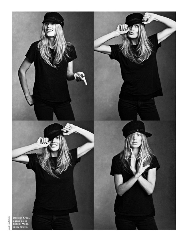 ELLE FRANCE- Doutzen Kroes in Special Mode by Bruno Staub. www.imageamplified.com, Image Amplified