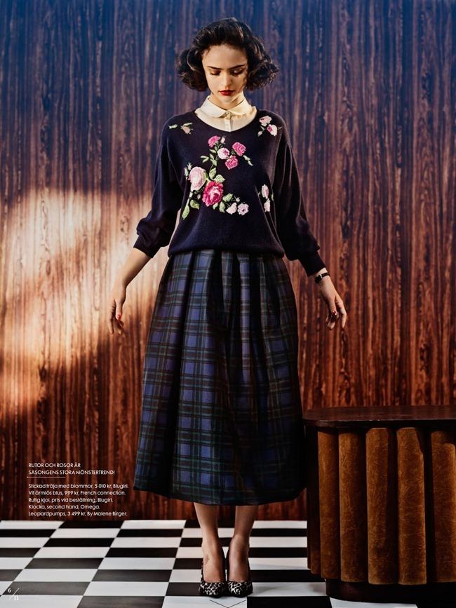 ELLE SWEDEN- Celia Becker in Twin Peaks by Carl Bengtsson. Jenny Fredriksson, September 2013, www.imageamplified.com, Image Amplified (5)