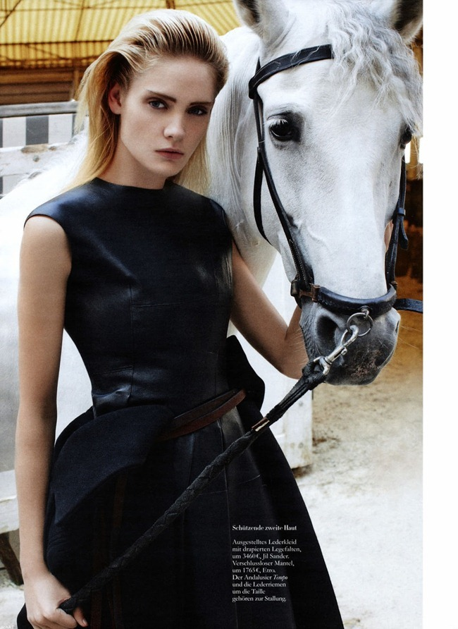 HARPER'S BAZAAR GERMANY- Heidi Mount in French Riding by Anthony Maule. Lynn Schmidt, September 2013, www.imageamplified.com, Image Amplified (1)
