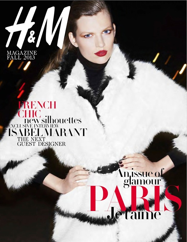 H&M MAGAZINE- Bette Franke in The City of Glamour by Katja Rahlwes. Geraldine Saglio, Fall 2013, www.imageamplified.com, Image Amplified