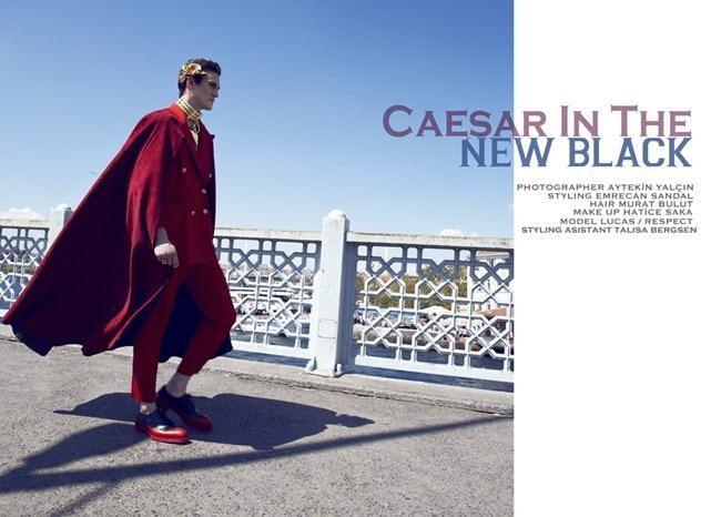 PAUSE MAGAZINE- Lucas in Caesar In The New Black by Aytekin Yalcin. Emrecan Sandal, www.imageamplified.com, Image Amplified