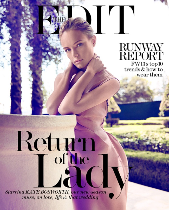 THE EDIT- Kate Bosworth in Always a Lady by Koray Birand. Natalie Brewster, August 2013, www.imageamplified.com, Image Amplified
