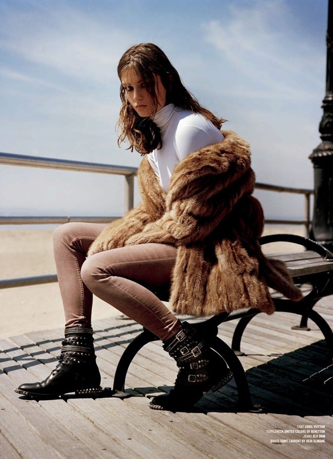 V MAGAZINE- Andreea Diaconu in Andreea And The Finest Furs by Alasdair McLellan. Melanie Ward, Fall 2013, www.imageamplified.com, Image Amplified (3)