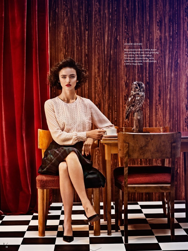 ELLE SWEDEN- Celia Becker in Twin Peaks by Carl Bengtsson. Jenny Fredriksson, September 2013, www.imageamplified.com, Image Amplified (1)
