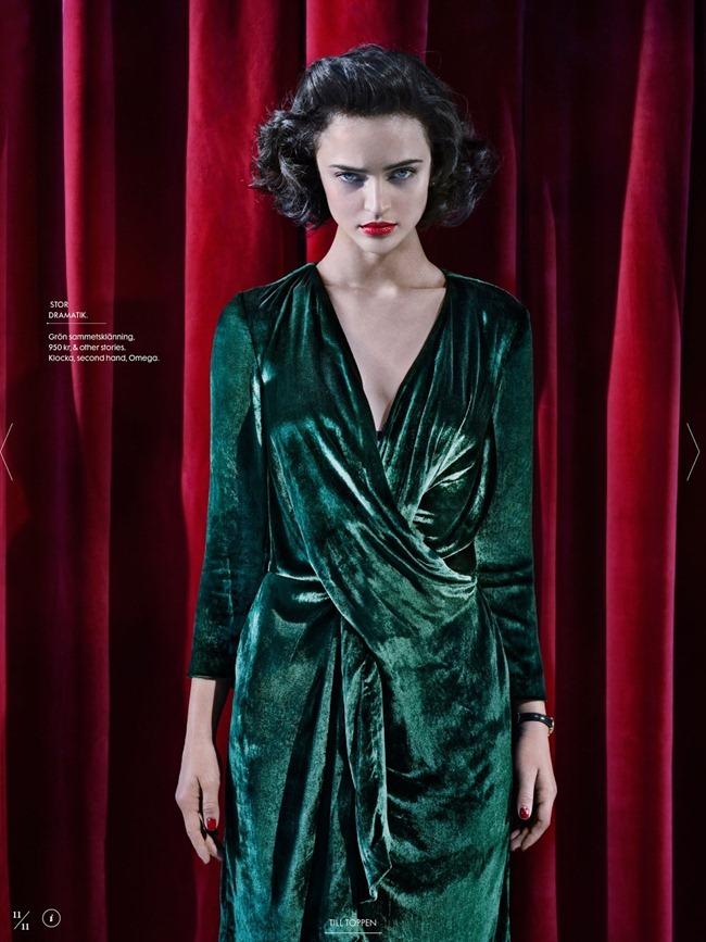 ELLE SWEDEN- Celia Becker in Twin Peaks by Carl Bengtsson. Jenny Fredriksson, September 2013, www.imageamplified.com, Image Amplified (10)