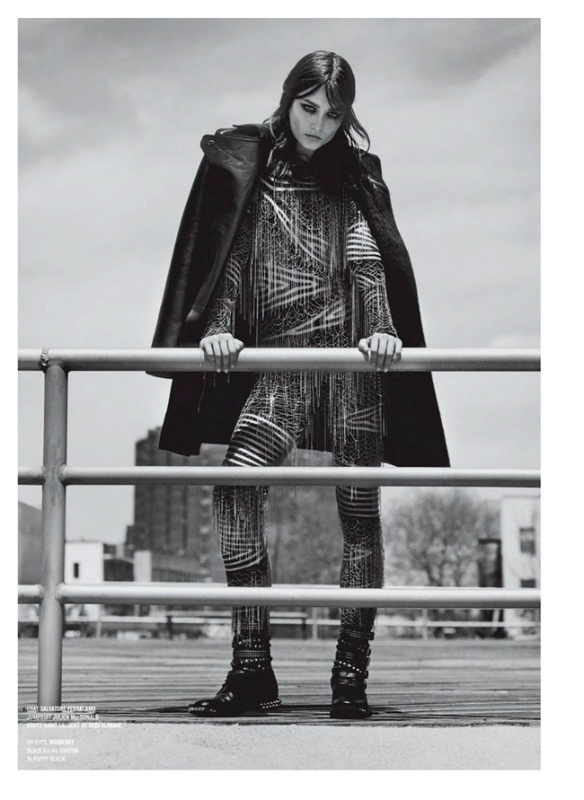 V MAGAZINE- Andreea Diaconu in Andreea And The Finest Furs by Alasdair McLellan. Melanie Ward, Fall 2013, www.imageamplified.com, Image Amplified (2)