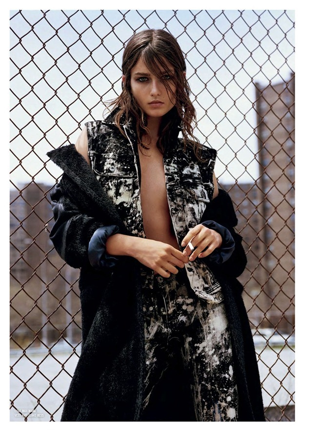 V MAGAZINE- Andreea Diaconu in Andreea And The Finest Furs by Alasdair McLellan. Melanie Ward, Fall 2013, www.imageamplified.com, Image Amplified (4)