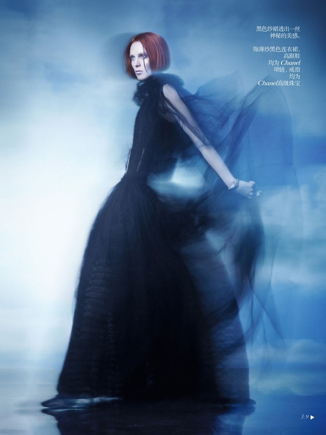 VOGUE CHINA- Karen Elson in Shadow Dream by Solve Sundsbo. Nicoletta Santoro, Fall 2013, www.imageamplified.com, Image Amplified (2)
