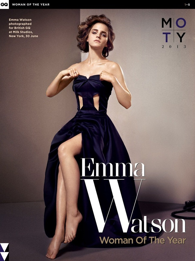 GQ UK- Emma Watson in Woman of the Year by Vincent Peters. Penny Lovell, October 2013, www.imageamplified.com, Image Amplified (1)