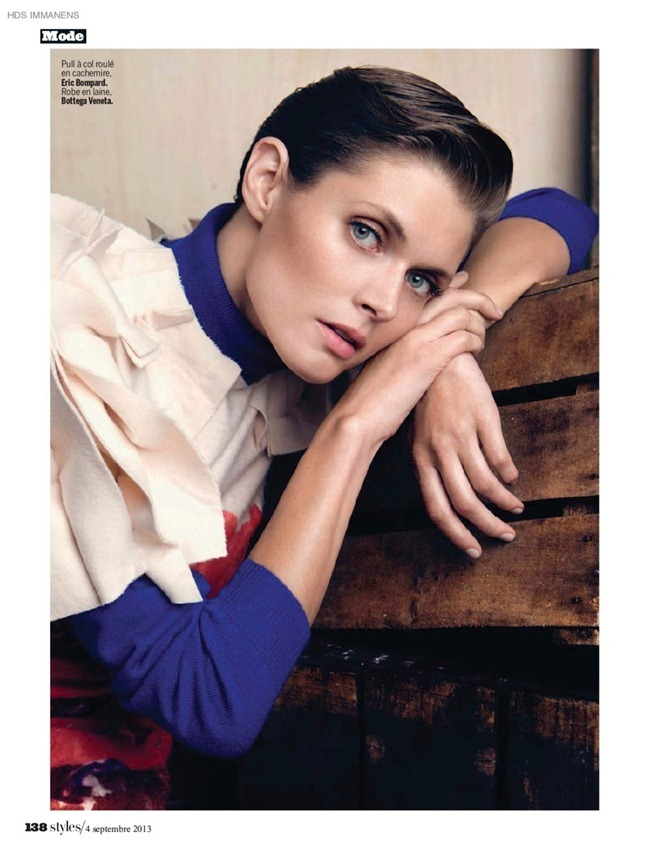 L'EXPRESS STYLES- Malgosia Bela in Epreuvers D'artiste by Vitor Demarchelier. September 2013, www.imageamplified.com, Image amplified41
