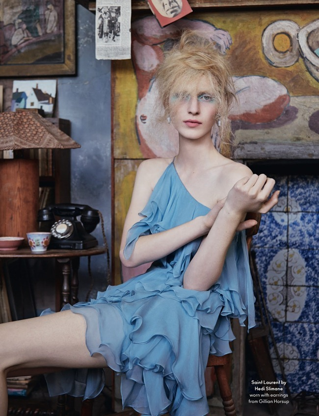 ANOTHER MAGAZINE- Julia Nobis by Ben Toms. Katie Shillingford, Fall 2013, www.imageamplified.com, Image Amplified (4)