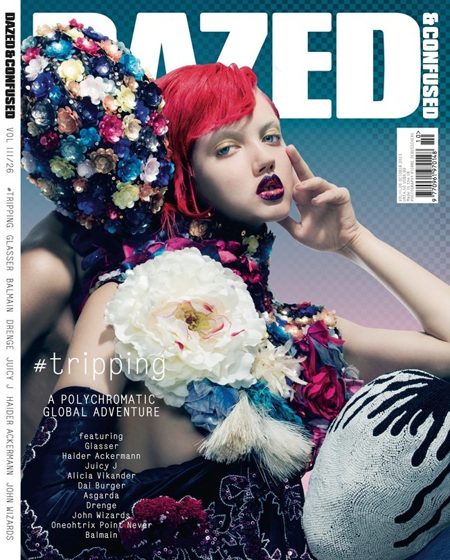 DAZED & CONFUSED MAGAZINE- Lindsey Wixson by Pierre Debusschere. Robbie Spencer, October 2013, www.imageamplified.com, Image Amplified