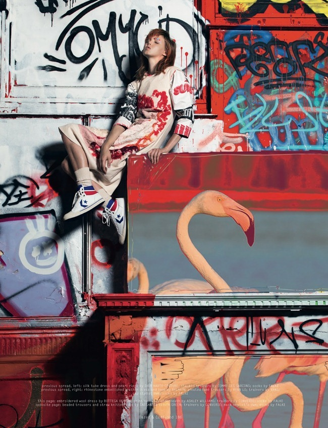 DAZED & CONFUSED MAGAZINE- Lindsey Wixson by Pierre Debusschere. Robbie Spencer, October 2013, www.imageamplified.com, Image Amplified (3)