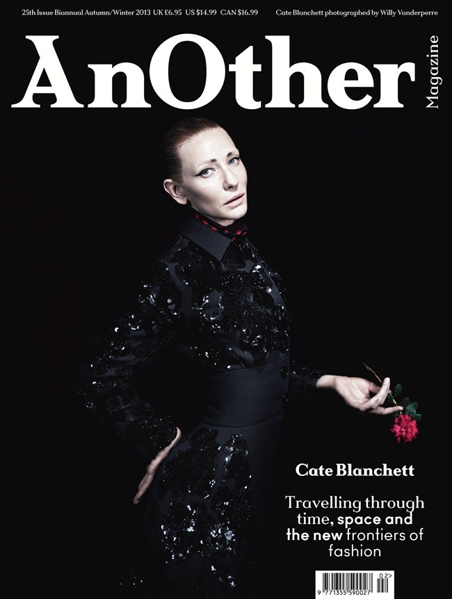 ANOTHER MAGAZINE- Cate Blanchett by Willy Vanderperre. Olivier Rizzo, Fall 2013, www.imageamplified.com, Image Amplified