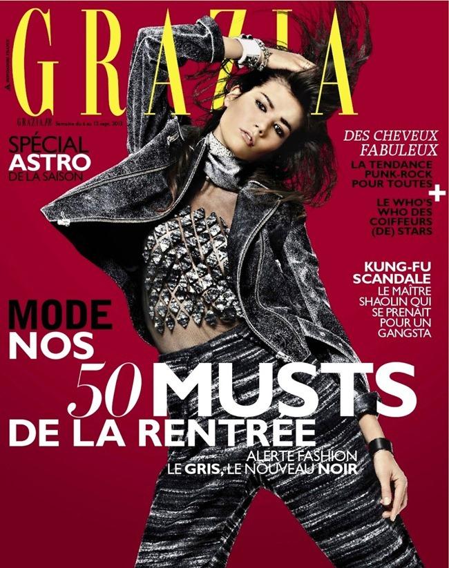 GRAZIA FRANCE- sheila Marquez by James Macari. Alexandra Bernard, September 2013, www.imageamplified.com, Image Amplified