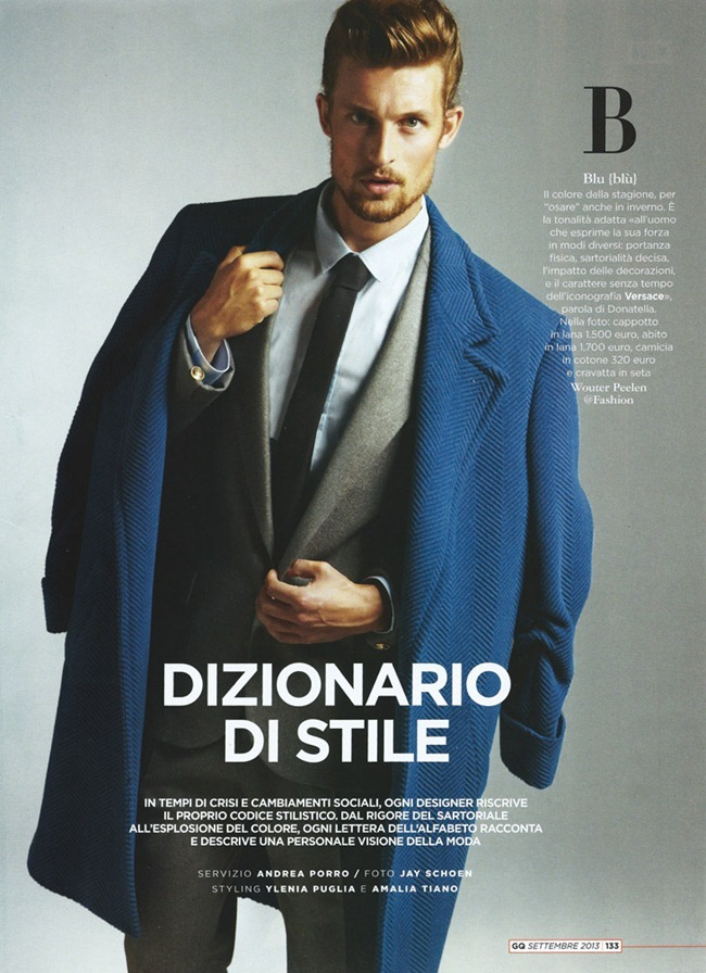 GQ ITALIA- Dizionario Di Stile by Jay Schoen. Ylenia Puglia, Amalia Tiano, September 2013, www.imageamplified.com, Image Amplified (1)