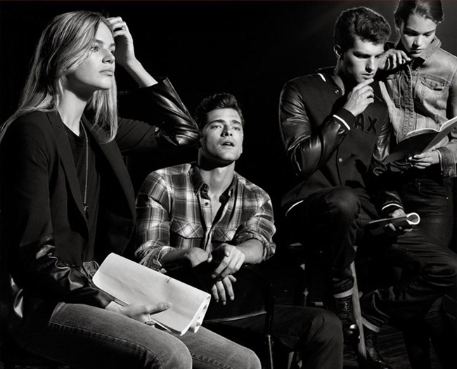 CAMPAIGN- Francesco Peralda, Paolo Anchisi & Sean O'Pry for Armani Exchange Fall 2013 by Robbie Fimano. Karl Templer, www.imageamplified.com, Image Amplified (6)