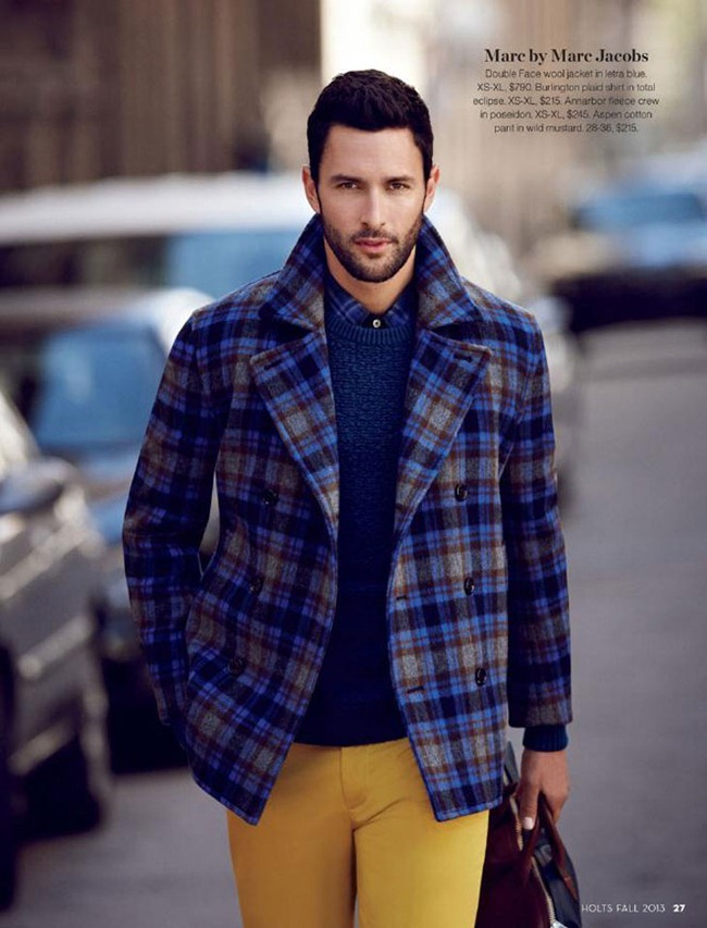 CAMPAIGN- Noah Mills for Holt Renfrew Fall 2013. www.imageamplified.com, Image Amplified