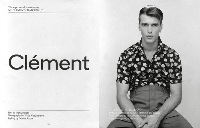 FANTASTIC MAN MAGAZINE- Clement Chabernaud by Willy Vanderperre. Fall 2013, Olivier Rizzo, www.imageamplified.com, Image Amplified