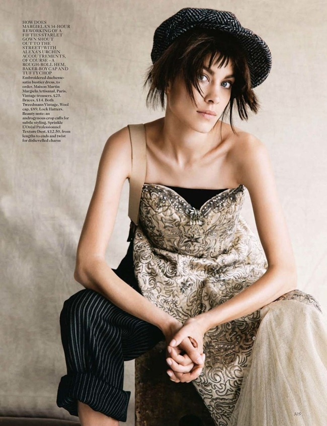 VOGUE UK- Alexa Chung in The Kid by Patrick Demarchelier. Lucinda Chambers, October 2013, www.imageamplified.com, Image Amplified (1)