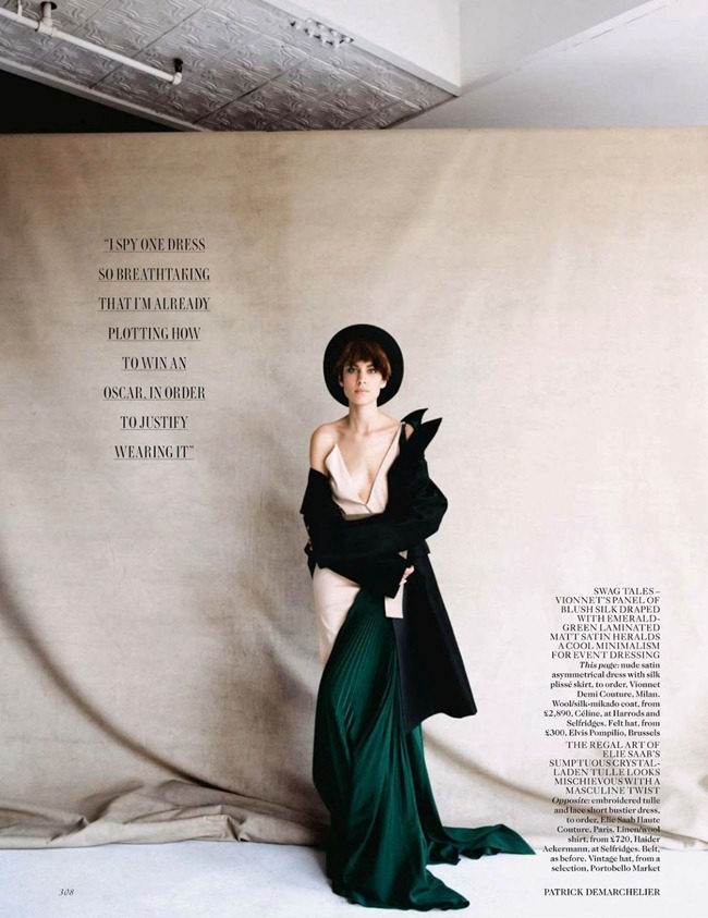 VOGUE UK- Alexa Chung in The Kid by Patrick Demarchelier. Lucinda Chambers, October 2013, www.imageamplified.com, Image Amplified (4)