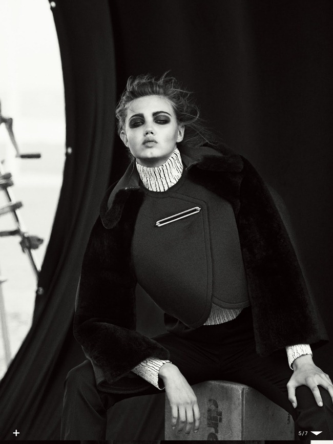 VOGUE JAPAN- Lindsey Wixson in The Birth of a Vision by Peter LIndbergh. Sissy Vian, October 2013, www.imageamplified.com, Image Amplified (4)