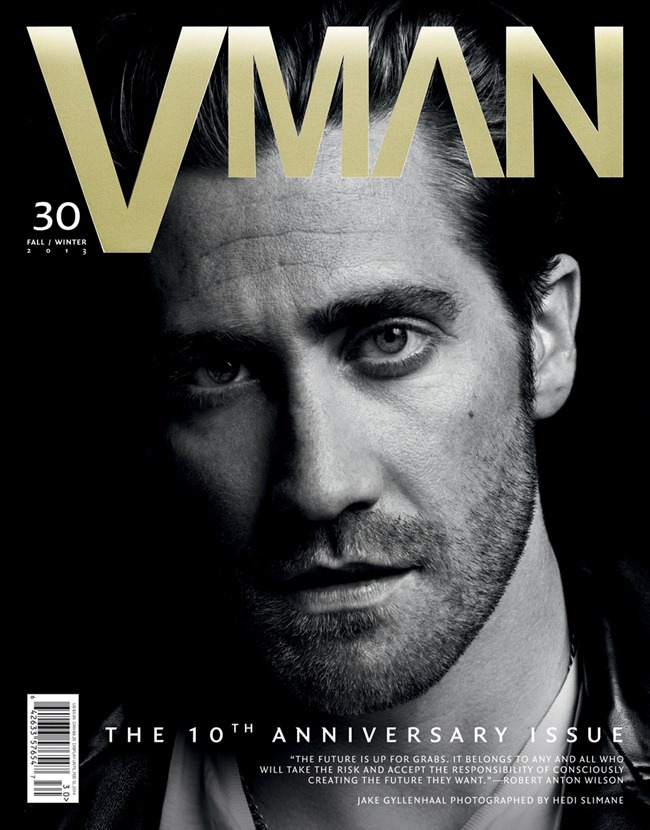 V MAN MAGAZINE- Jake Gylenhaal by Hedi Slimane. Fall 2013, www.imageamplified.com, Image Amplified (4)