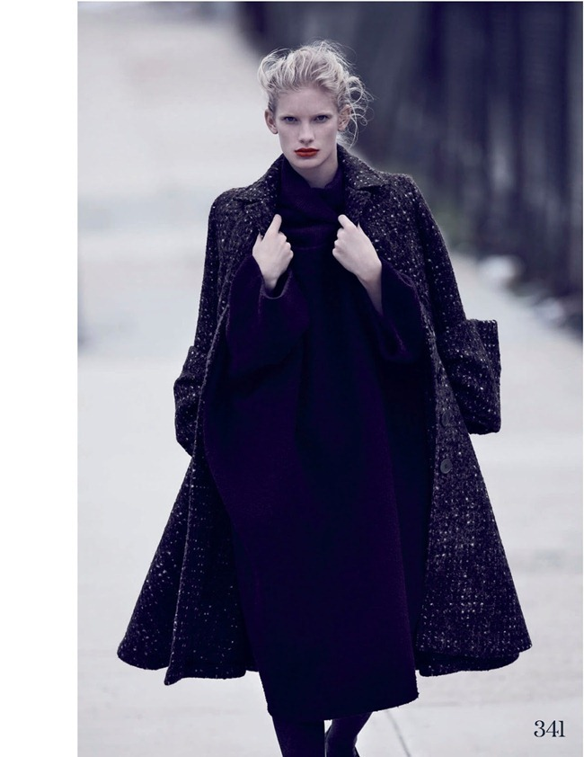 ELLE UK- Ilse De Boer in The Maxi Coat by Bruno Staub. Anne-Marie Curtis, October 2013, www.imageamplified.com, Image Amplified (7)