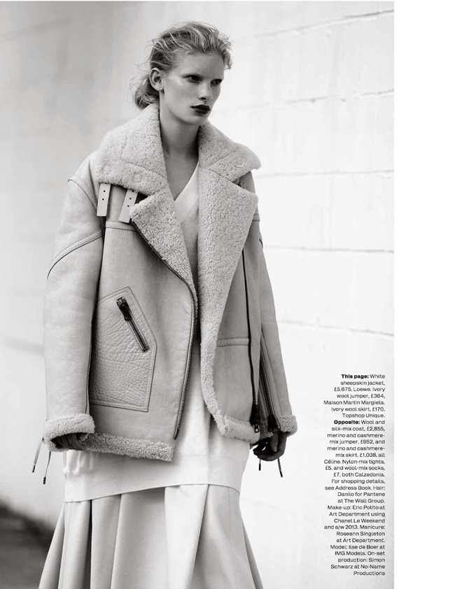 ELLE UK- Ilse De Boer in The Maxi Coat by Bruno Staub. Anne-Marie Curtis, October 2013, www.imageamplified.com, Image Amplified (8)