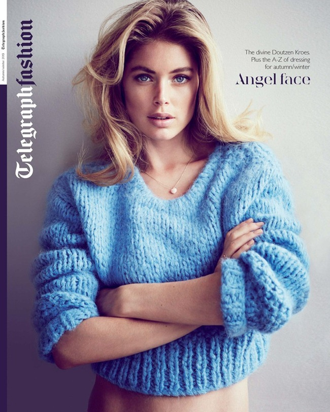 TELEGRAPH FASHION- Doutzen Kroes in Angel Face by Will Davidson. Clare Richardson, Fall 2013, www.imageamplified.com, Image Amplified (8)