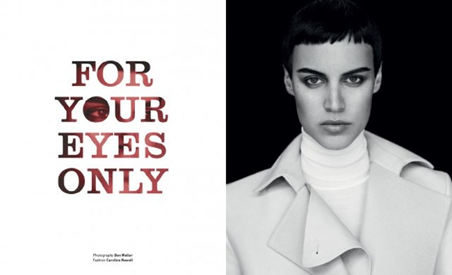 MUSE MAGAZINE- Alana Bunte in For Your Eyes Only by Ben Weller. Caroline Newell, Fall 2013, www.imageamplified.com, Image Amplified