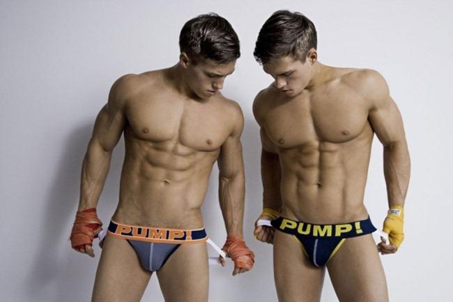 MASCULINE DOSAGE- Rubin & Reval Minnekhanov in Pump! Underwear by Rick Day. www.imageamplified.com, Image Amplified (4)