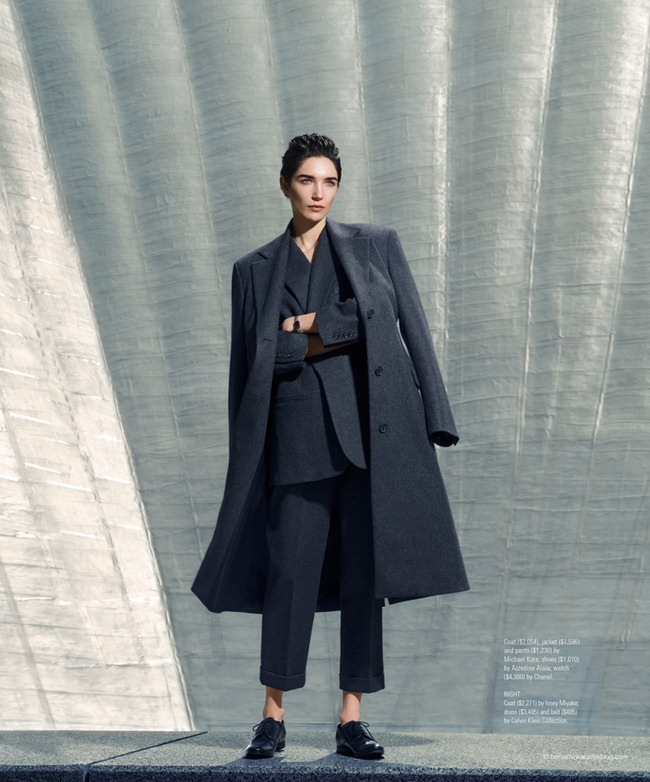 Janice Alida in Paris, La Défense for S Style & Fashion