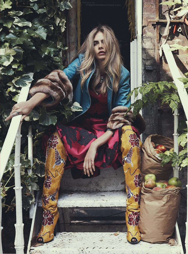 VOGUE AUSTRALIA- Cara Delevigne in Queen Cara by Benny Horne. Christine Centenera, October 2013, www.imageamplified.com, Image Amplified (4)